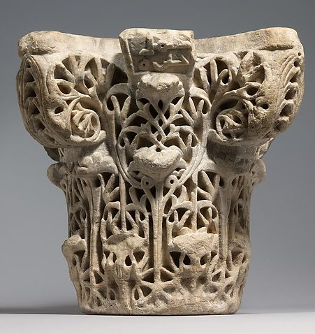 Marble Column Capital from Cordoba – After Empire