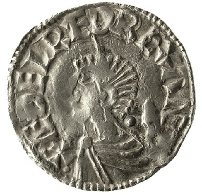 Silver Penny Of King AEthelred II