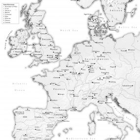 Map of Europe 1031