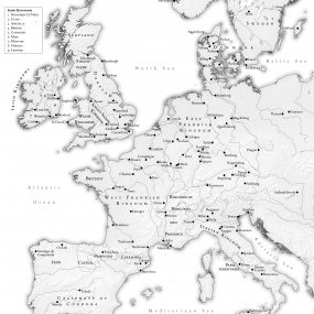 Map of Europe 931