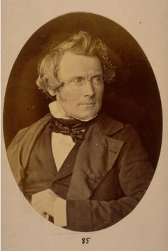 Professor James Ferrier, Professor of Moral Philosophy University St Andrews 1845-1864, by Thomas Rodger 1855. Image courtesy of University of St Andrews Library ALB-1-85