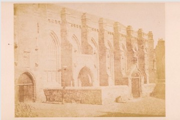 University Chapel, St Andrews, by D.O. Hill and R. Adamson. 1846. Image courtesy of University of St Andrews Library ALB-22-10