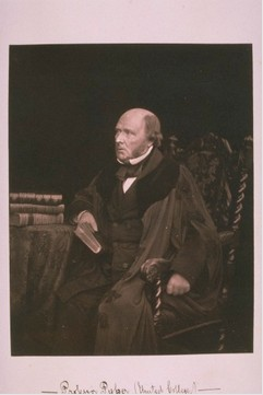 Professor, Pyper, United College, University of St Andrews, by Thomas Rodger. 1850. Image courtesy of University of St Andrews Library ALB-3-11