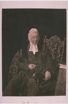 Dr Buist, University of St Andrews, by Thomas Rodger. 1850.  Image courtesy of University of St Andrews Library. ALB-3-21