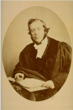 Principal John Tulloch, University of St Andrews, by John Adamson 1855. Image courtesy of University of St Andrews Library ALB-5-41