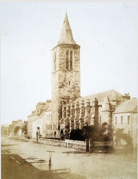 St Salvators College Church, by D.O. Hill and R. Adamson, 1846. Image courtesy of University of St Andrews Library ALB-66-3