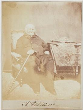 Photograph of Principal Haldane 1853