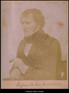 Professor Arthur Connell, University of St Andrews. Anon. 1842. Image courtesy of University of St Andrews Library. ALB-6-31-3