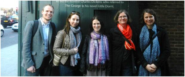 The DIMECCE team in London