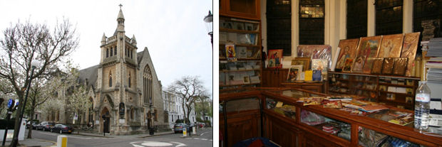 St Mark's Coptic Orthodox Church, Kensington (photos by Sara Lei Sparre)