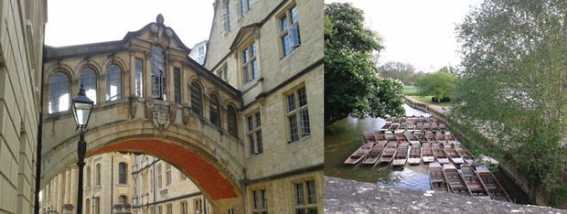 Tourist attractions in Oxford