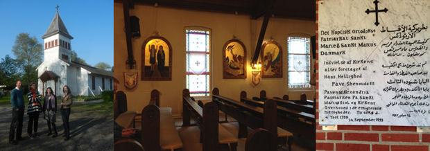 Church exterior and interior