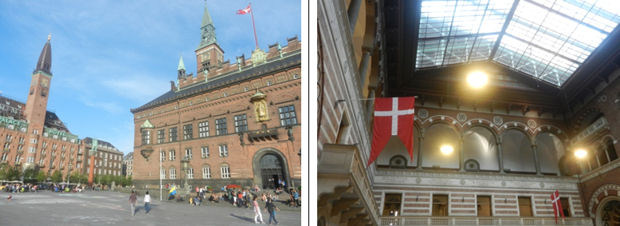 Copenhagen's historic City Hall – exterior and interior