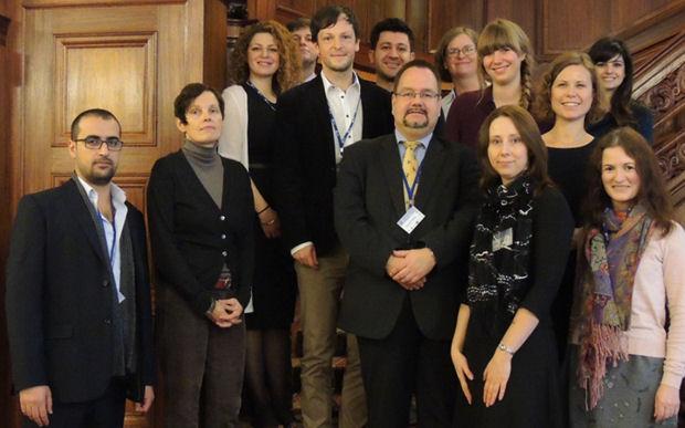 Participants in Lodz workshop