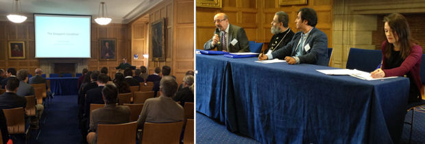Ghassan Hage (left) and Internal Dynamics panel (right)