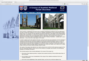 A Corpus of Scottish Medieval Parish Churches