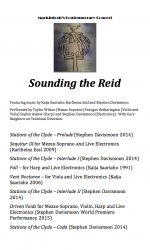 Sounding the Reid: program