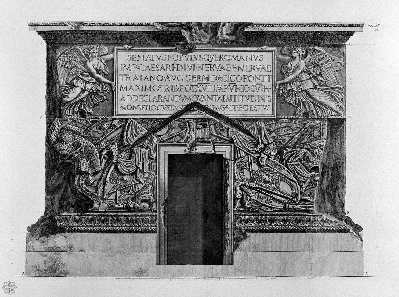 Description And Condition Of Trajan S Column Trajan S Column