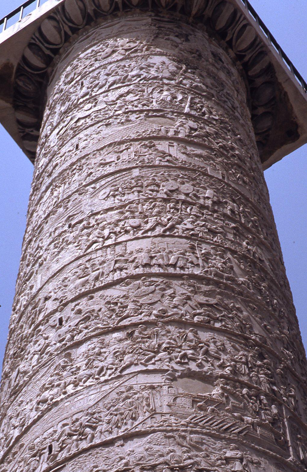 Description And Condition Of Trajan U2019s Column